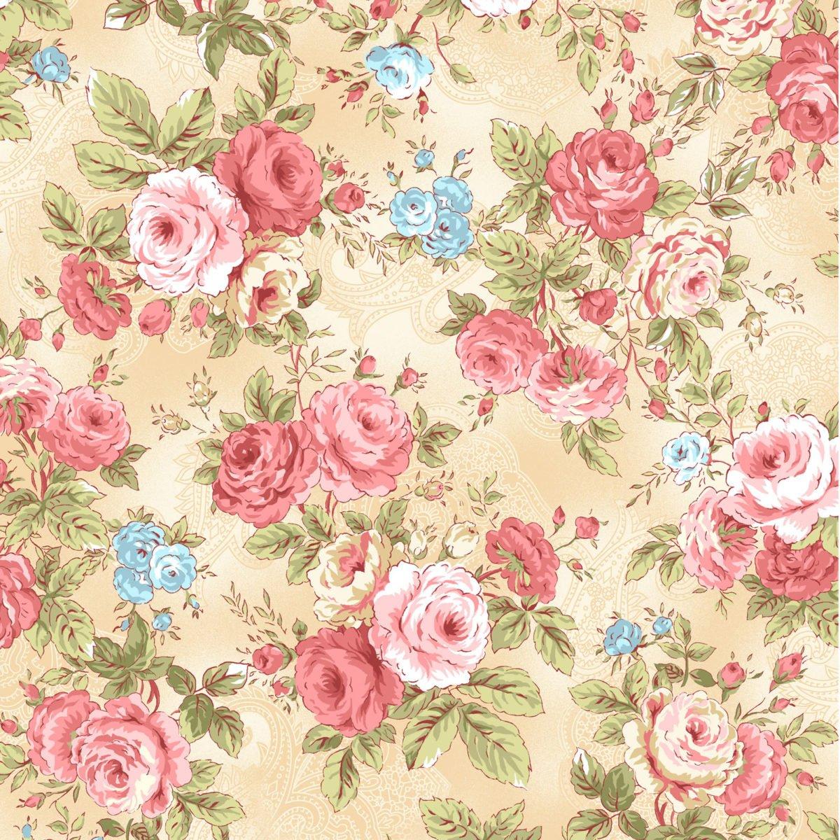 Oasis - Secret Garden Floral Beige