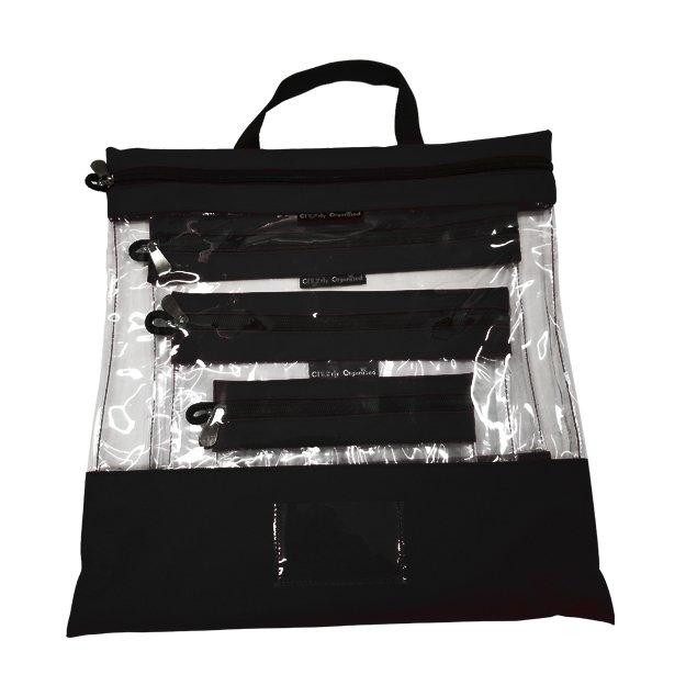 Black Clear Org Bag set/4