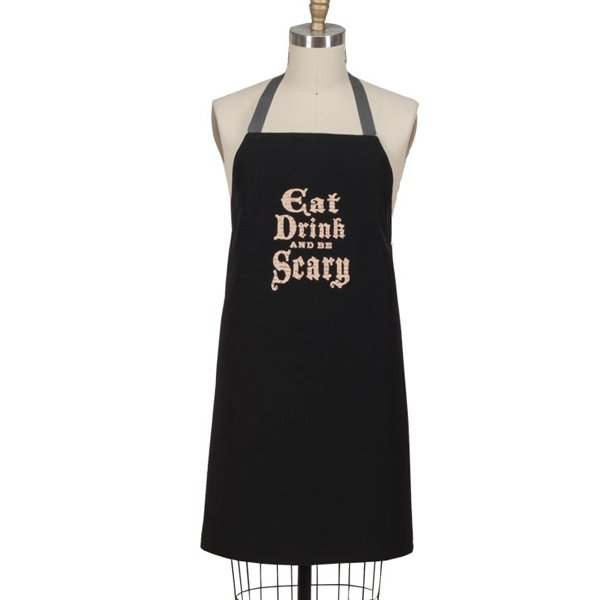 Eat Drink and Be Scary Chef Apron