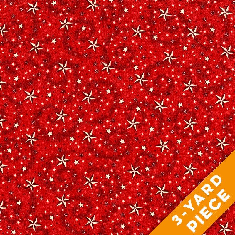 Henry Glass  American Dreams  Red  PRECUT 3-YARD PIECE