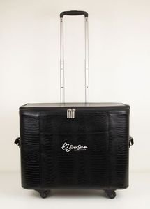 EverSewn Deluxe Hard Sided Spinner Tote Bag