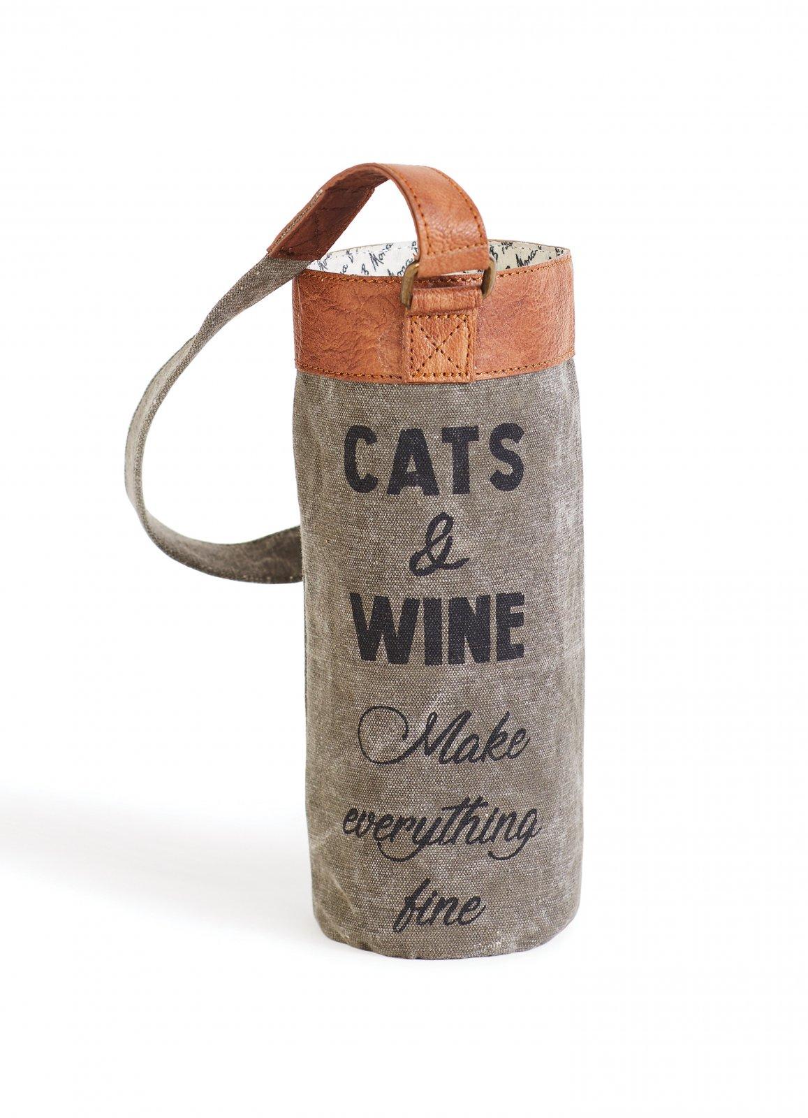 FINE WINE WINE BAG