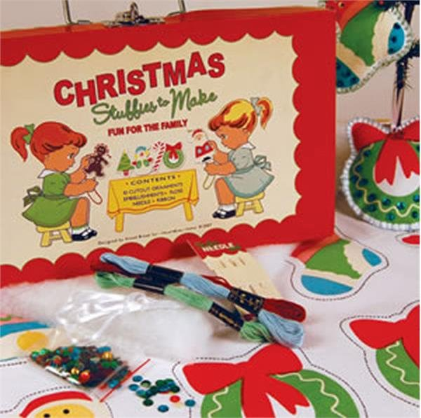 Sliced Bread Linen Christmas Stuffies Kit