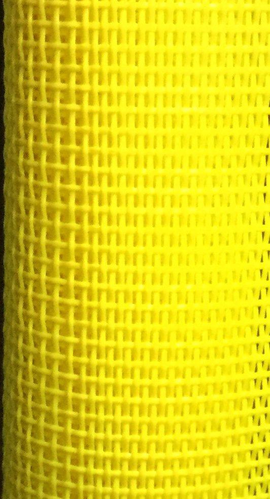 VMC-74  Yellow Vinyl Mesh