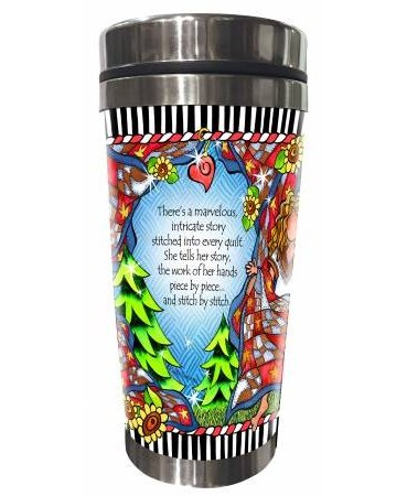 Quilt Story Stainless Steel Tumbler
