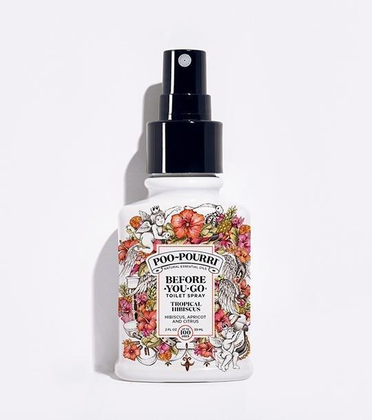 Tropical Hibiscus 2oz Cus Bottle