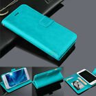Wallet Case Flip Leather Magnetic Cover for iPhone 8  - Blue