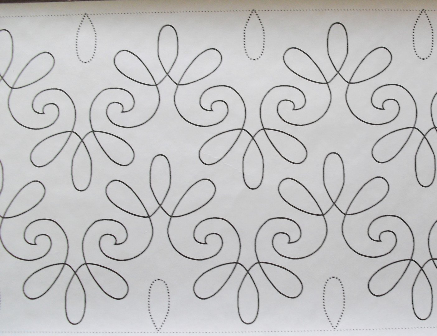 Long Arm Quilting - CHANTILLY LACE 34S