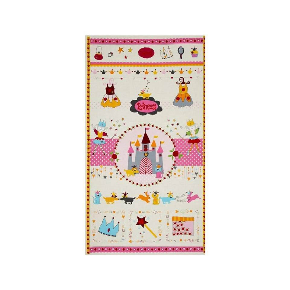 Sweet Princess Panel pink