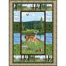 Oh Deer! Quilt Kit