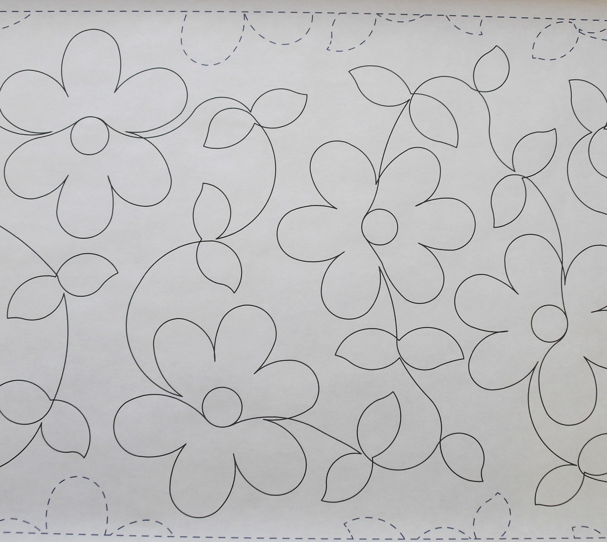 Long Arm Quilting - FOREVER DAISIES 69JJ