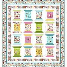 The Quilted Cottage Spool Quilt Kit
