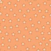 Baby Talk Orange Stars