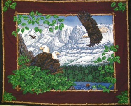 Eagle Overlook Wallhanging Panel