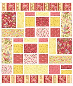 French Villa Quilt Kit