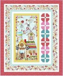 The Quilted Cottage Panel Quilt Kit