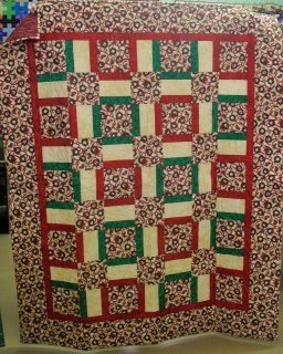 Quilt Squares and Rails Wreaths