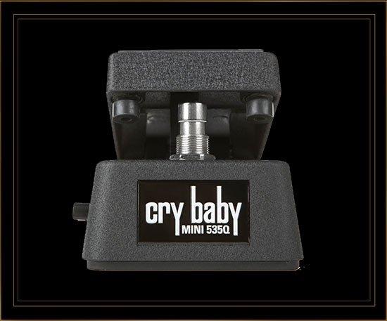 Dunlop CBM535Q Cry Baby Mini Adjustable Wah Pedal