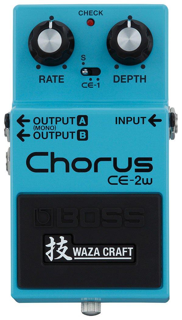 Boss CE-2W Analog Chorus Waza Craft