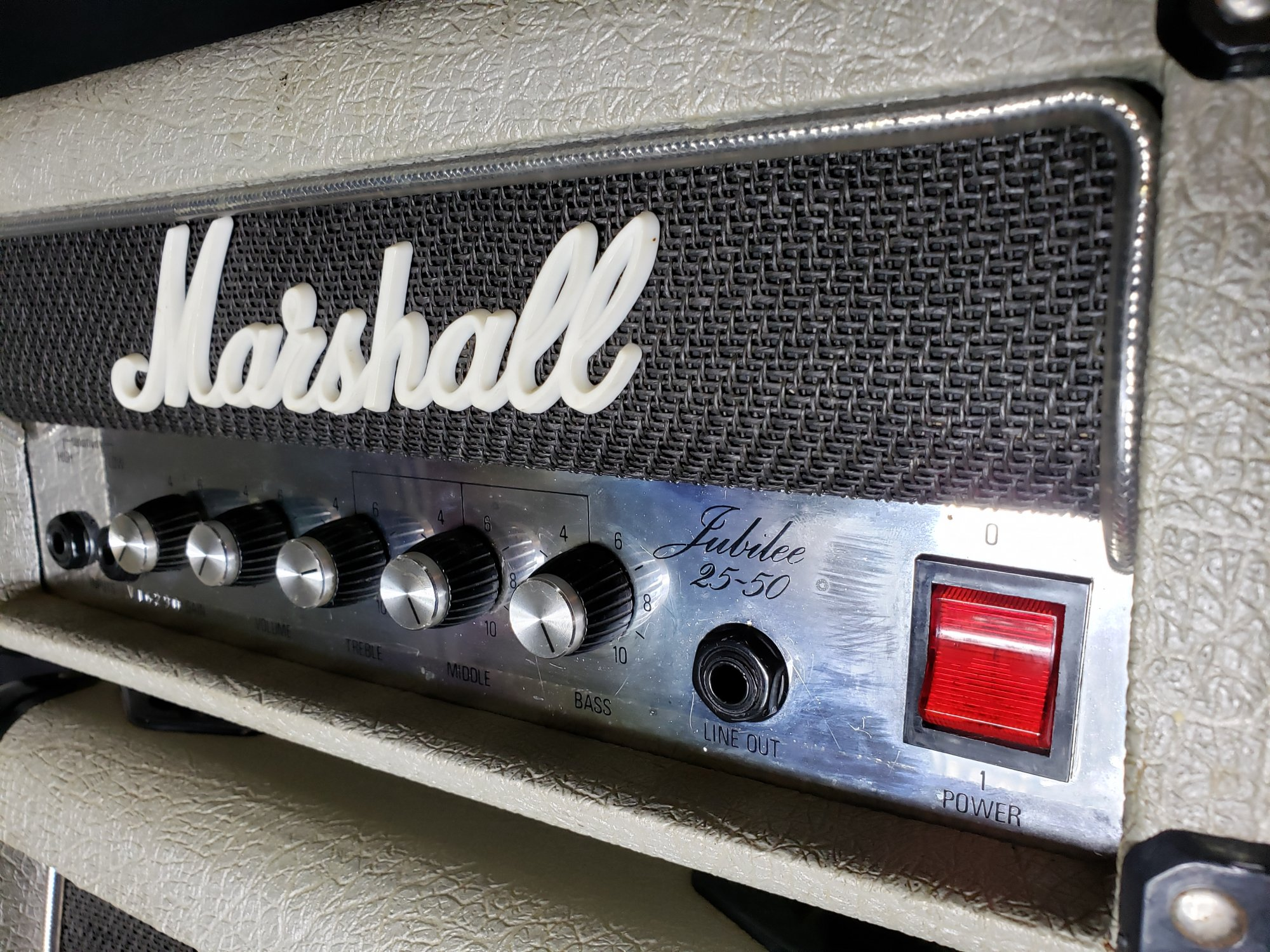 Marshall Jubilee 25/50 Mini Stack (1987)
