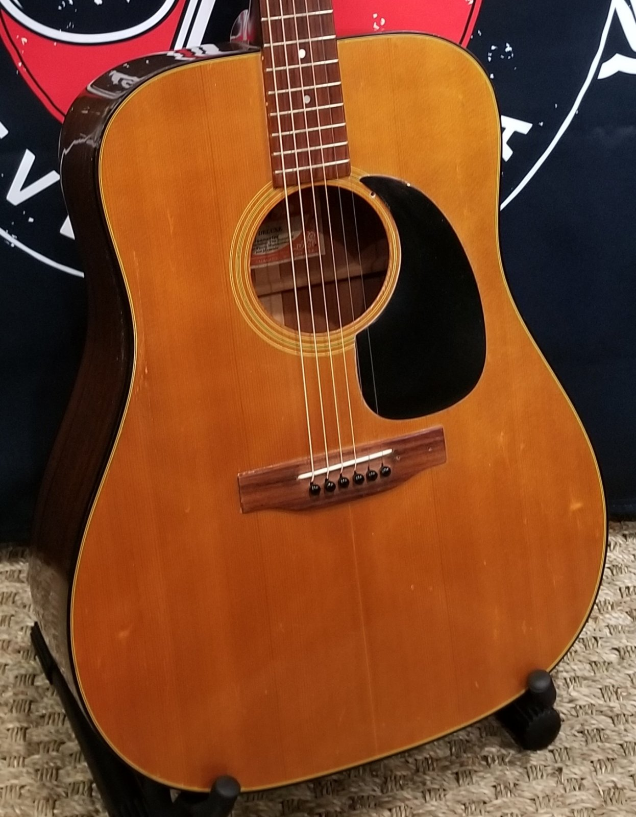1972 Gibson J-50 Deluxe w/ohc