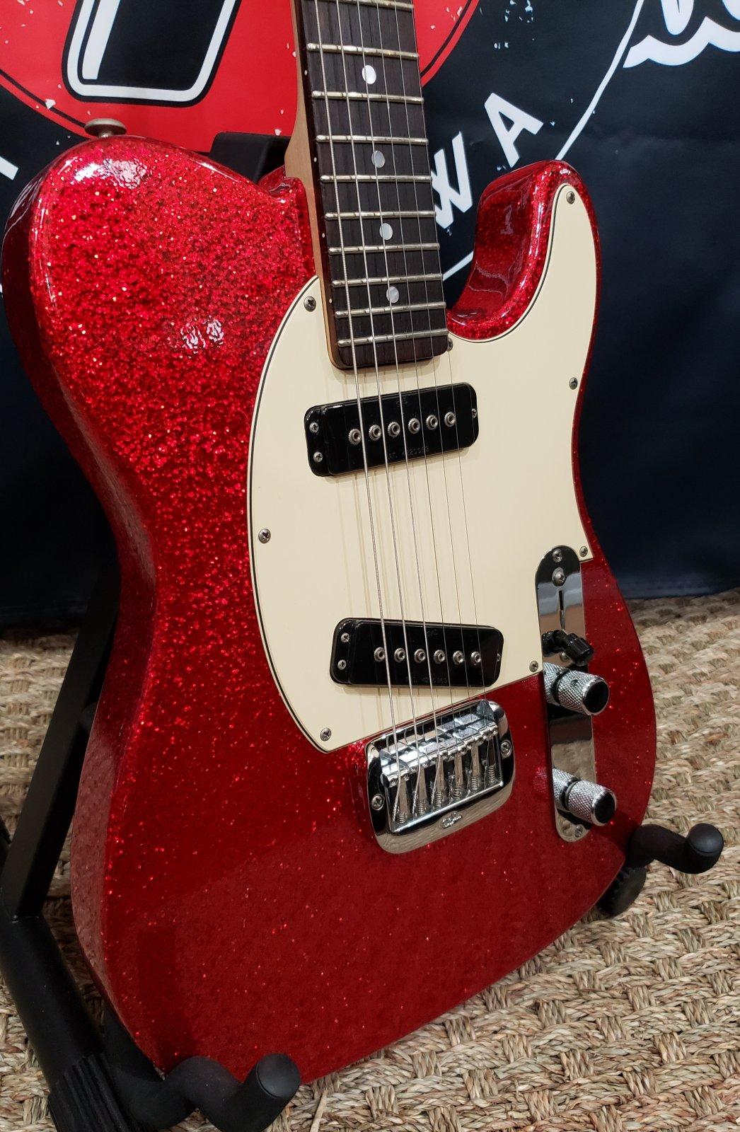 2005 G&L ASAT Classic Custom Red Sparkle Finish w/OHC
