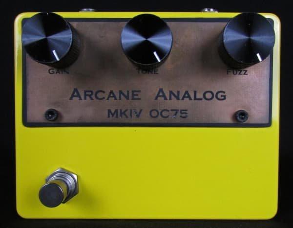 Arcane Analog Colorsound MKIV Tonebender OC75 Germanium Transistor Fuzz Pedal