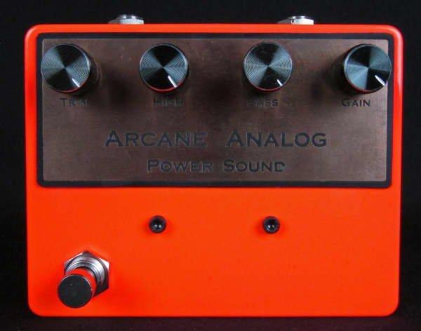 Arcane Analog Colorsound Power Sound BC109B (SMALL SCUFF ON ENCLOSURE)