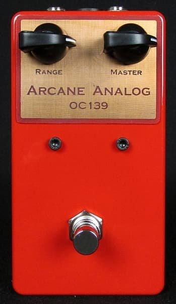 Arcane Analog Range Master OC139 Germanium Transistor Boost Pedal