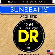 DR RCA-12 Sunbeams Phosphor Bronze Light 12-54