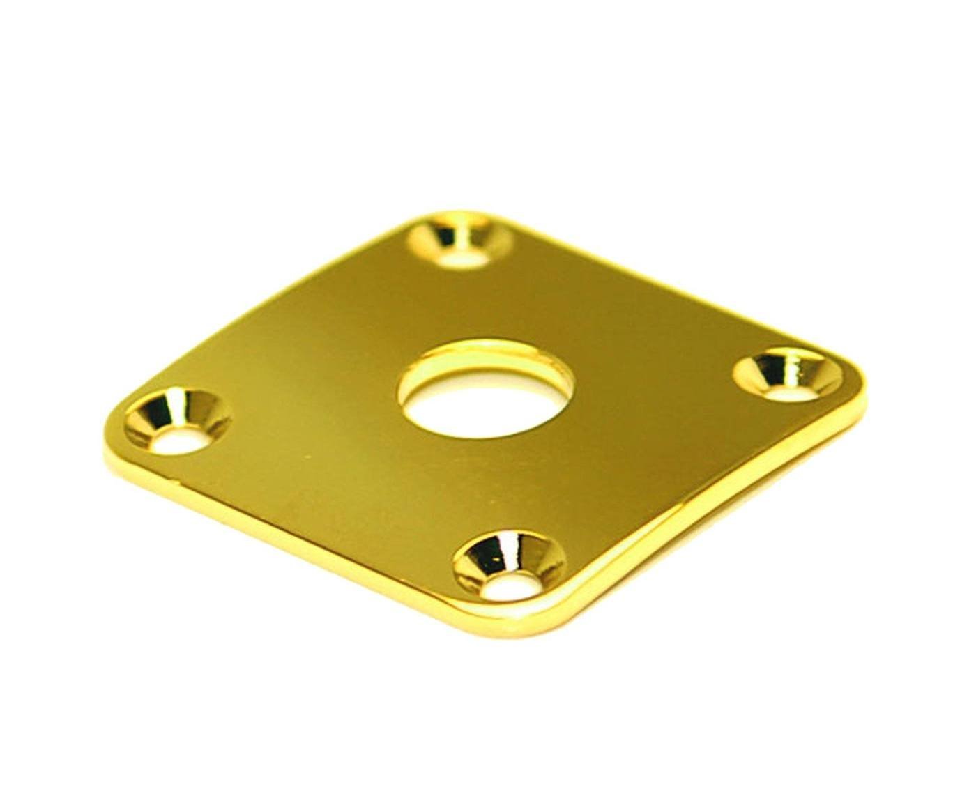 Allparts AP-0633-002 Gotoh Square Jackplate for Les Paul Gold