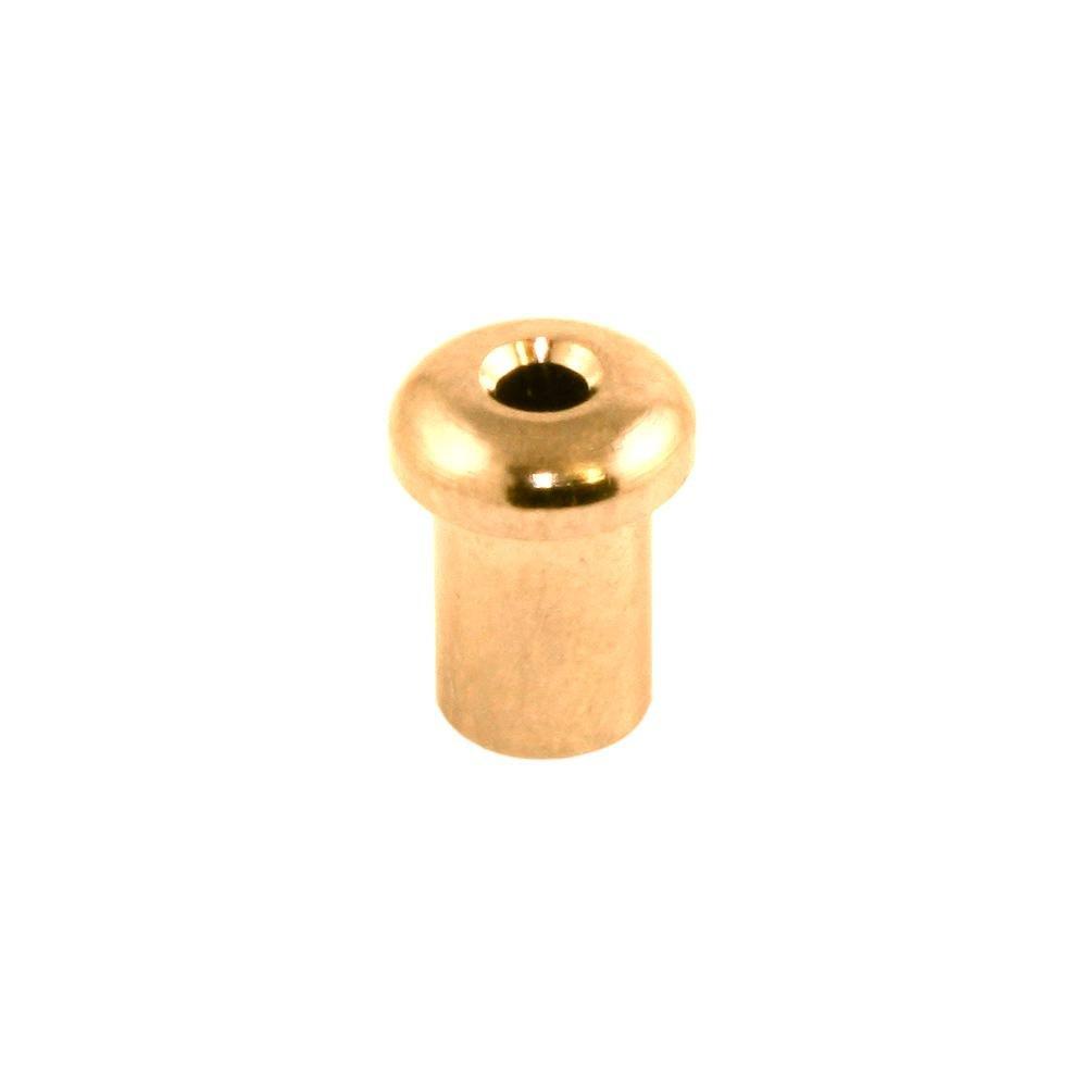 Allparts AP-0188-002 Top Loading String Ferrule Set of 6 Gold