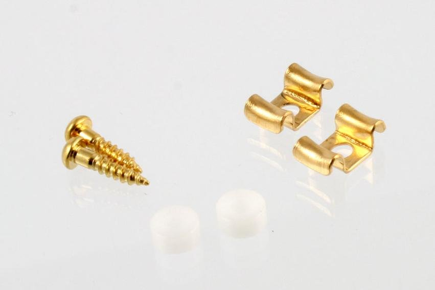 Allparts AP-0720-002 String Guides Gold