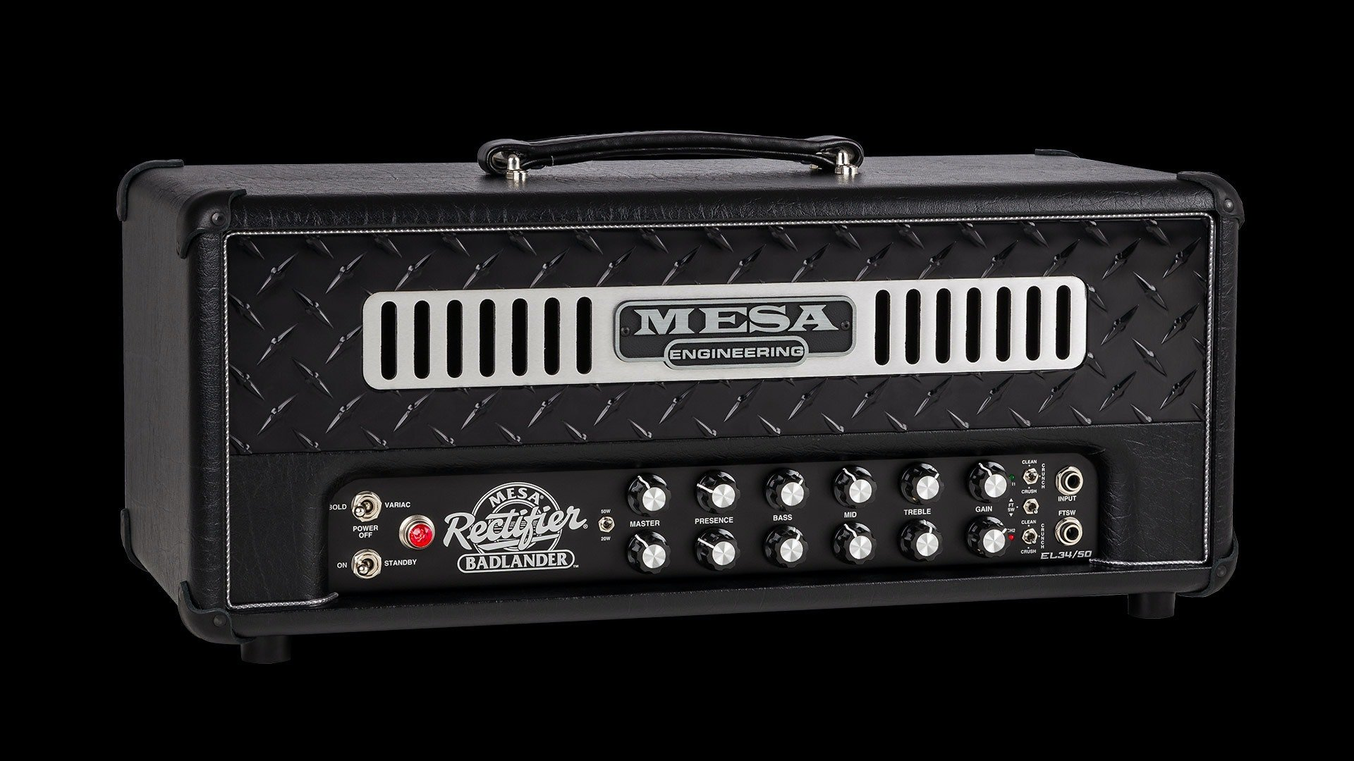Mesa Boogie Rectifier Badlander 50-watt Tube Head