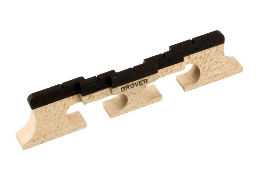 Allparts BJ-0507-0E0 Grover 5 - String Compensated Banjo Bridge 77
