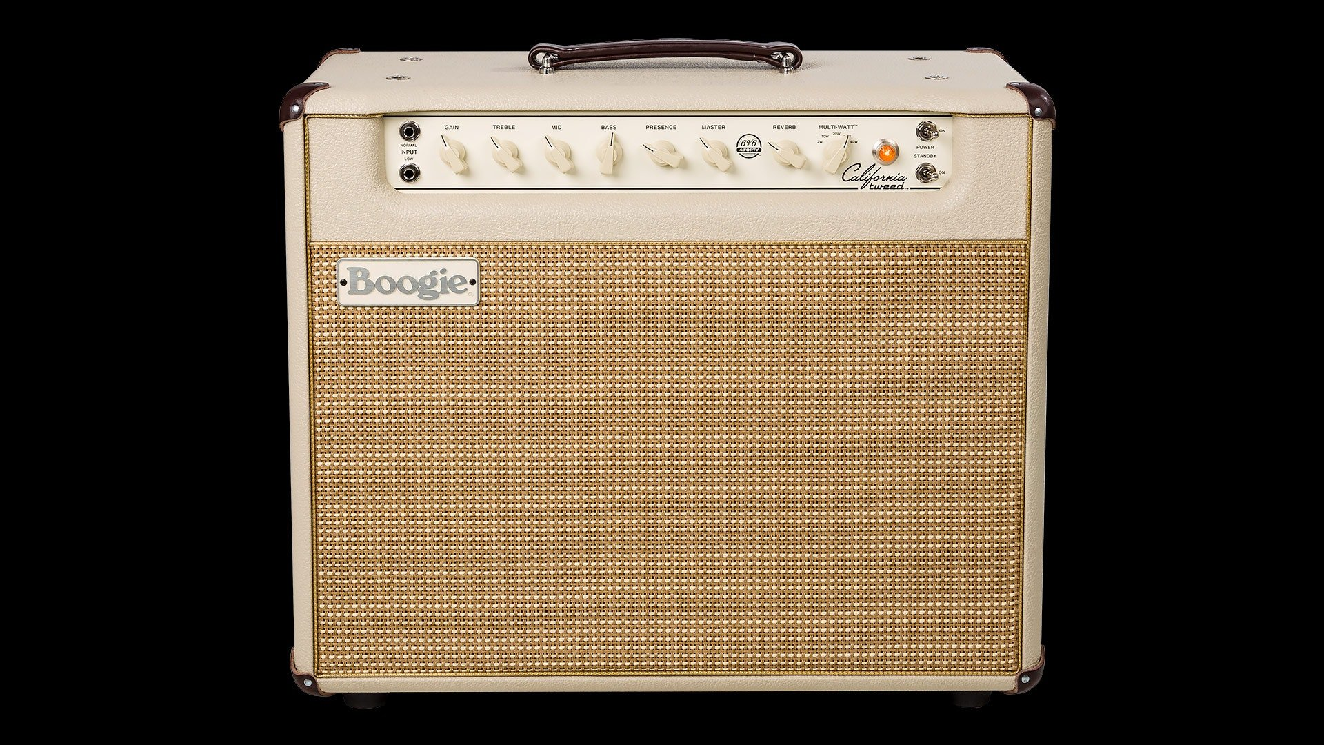 Mesa Boogie California Tweed 1x12 6V6 Tube Amplifier Cream Bronco/Cream Tan