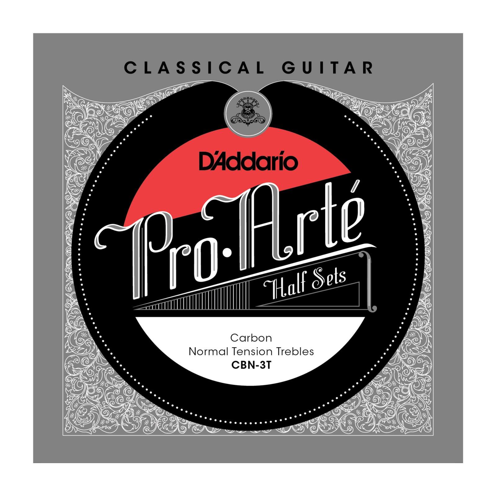 Daddario CBN-3T Pro-Arte Classical Treble Set