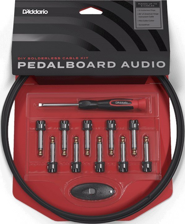 Daddario PW-MGPKIT-10 DIY Solderless Cable Kit With Mini-Plugs