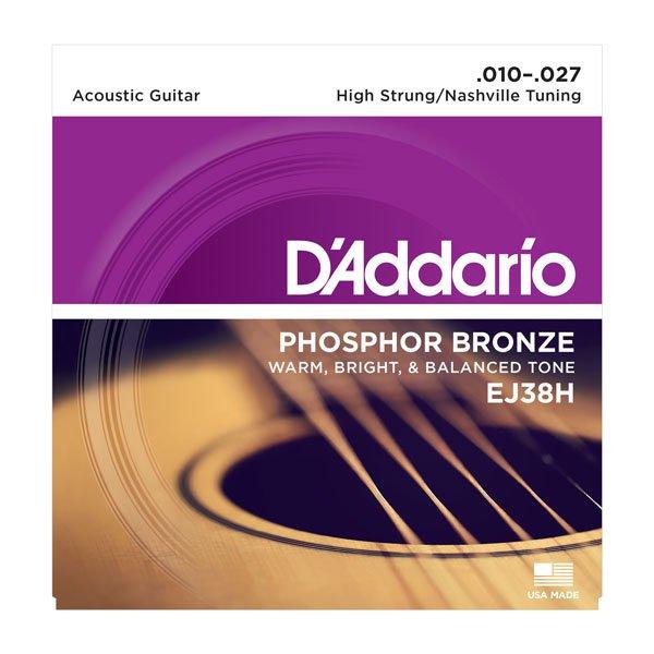 Daddario EJ38H Phosphor Bronze High Strung Nashville 10-27
