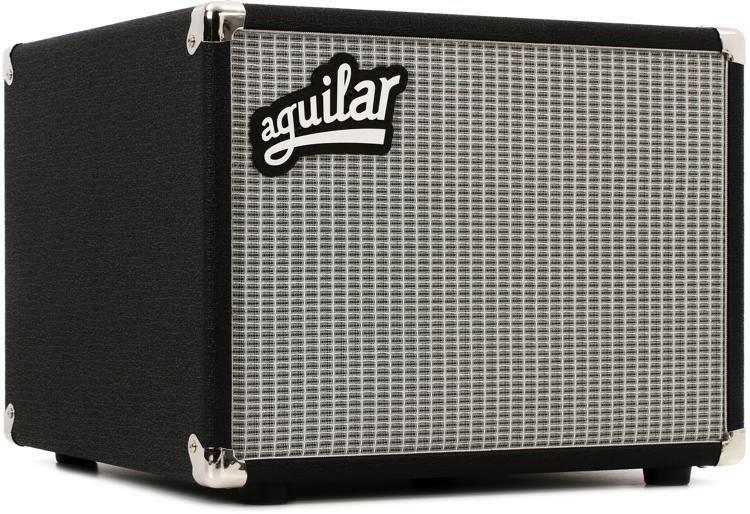 Aguilar DB 112 - 1x12 300-watt Bass Cabinet - Classic Black 8-Ohm with Tweeter