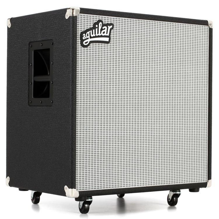 Aguilar DB 410 - 4x10 700-watt Bass Cabinet - Classic Black 8-ohm