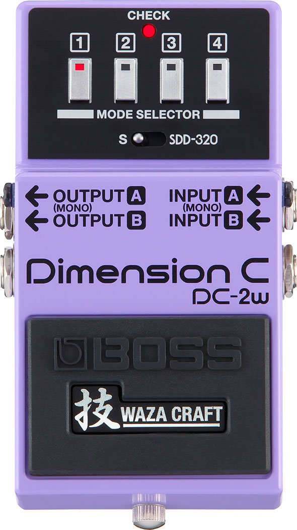 Boss DC-2W Dimension C Waza Craft Analog Chorus Pedal