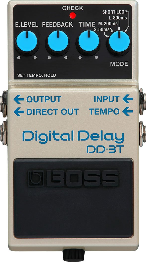 Boss DD-3T Digital Delay Pedal - Tap Tempo