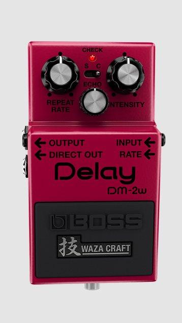 Boss DM-2W Waza Craft Analog Delay Pedal