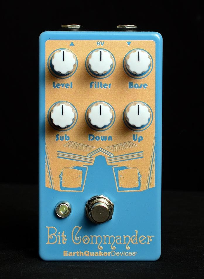 Earthquaker Devices Bit Commander Analog Octave Synth V2 Limited Documentary Edition