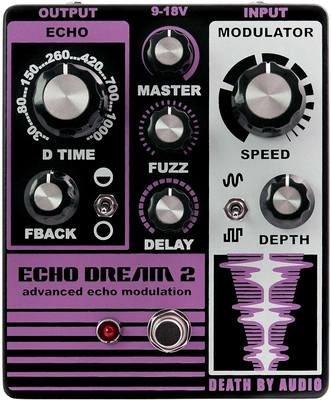 Death By Audio Echo Dream 2 Modulation Echo Delay Pedal