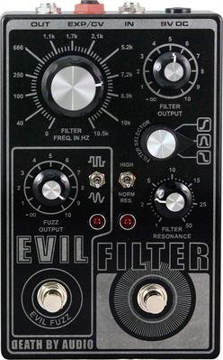 Death By Audio Evil Filter Octave Fuzz/Filter Pedal