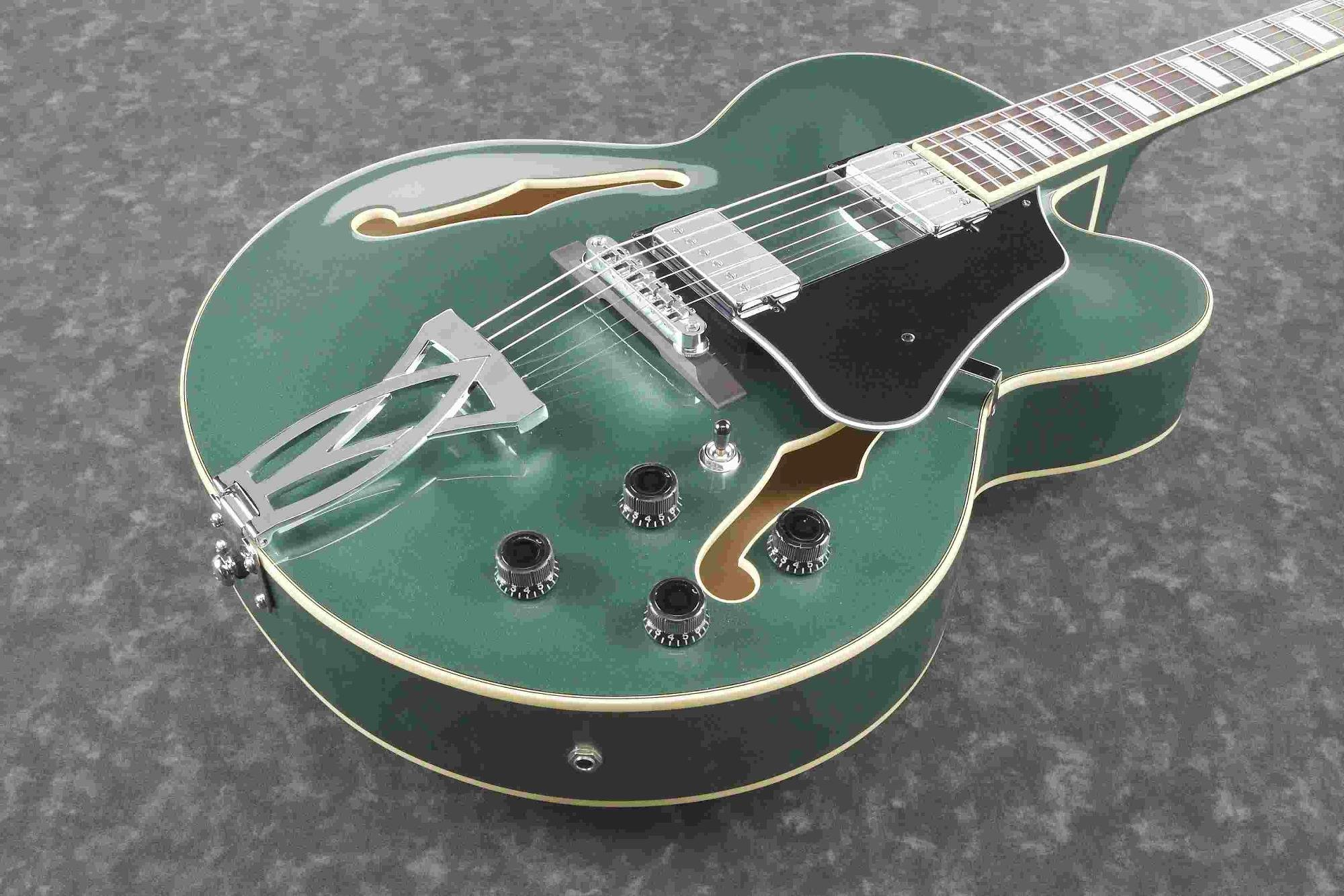 Ibanez Artcore AF75OLM - Hollowbody Electric Guitar - Olive Metallic