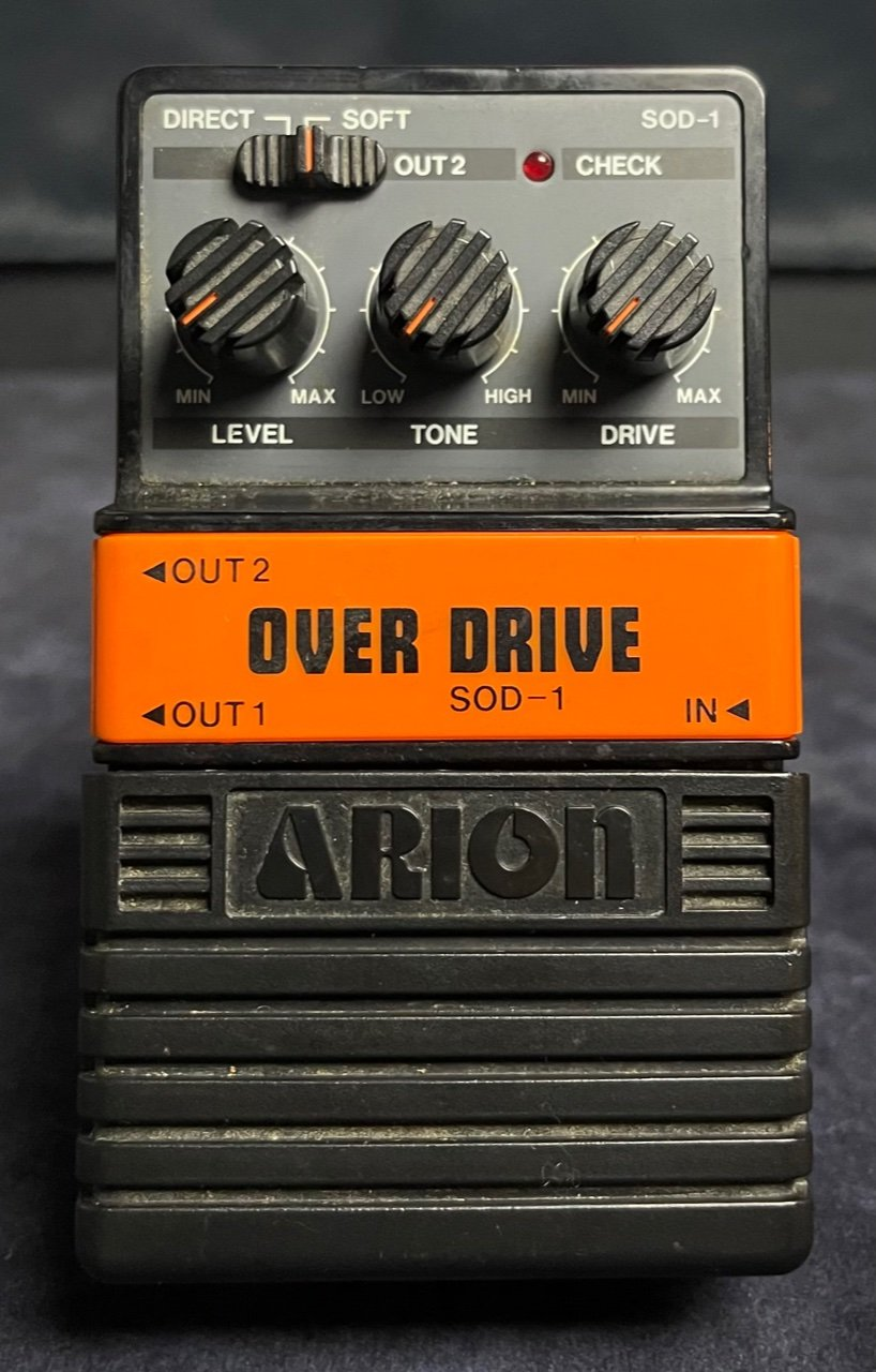 Arion SOD-1 Over Drive  - Overdrive Pedal