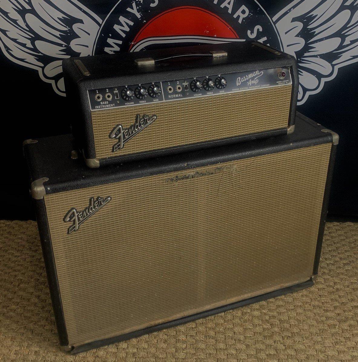 1964 Fender Bassman w/Matching Cab
